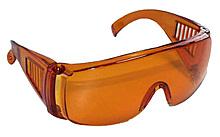 Очки защитные(оранжевые)