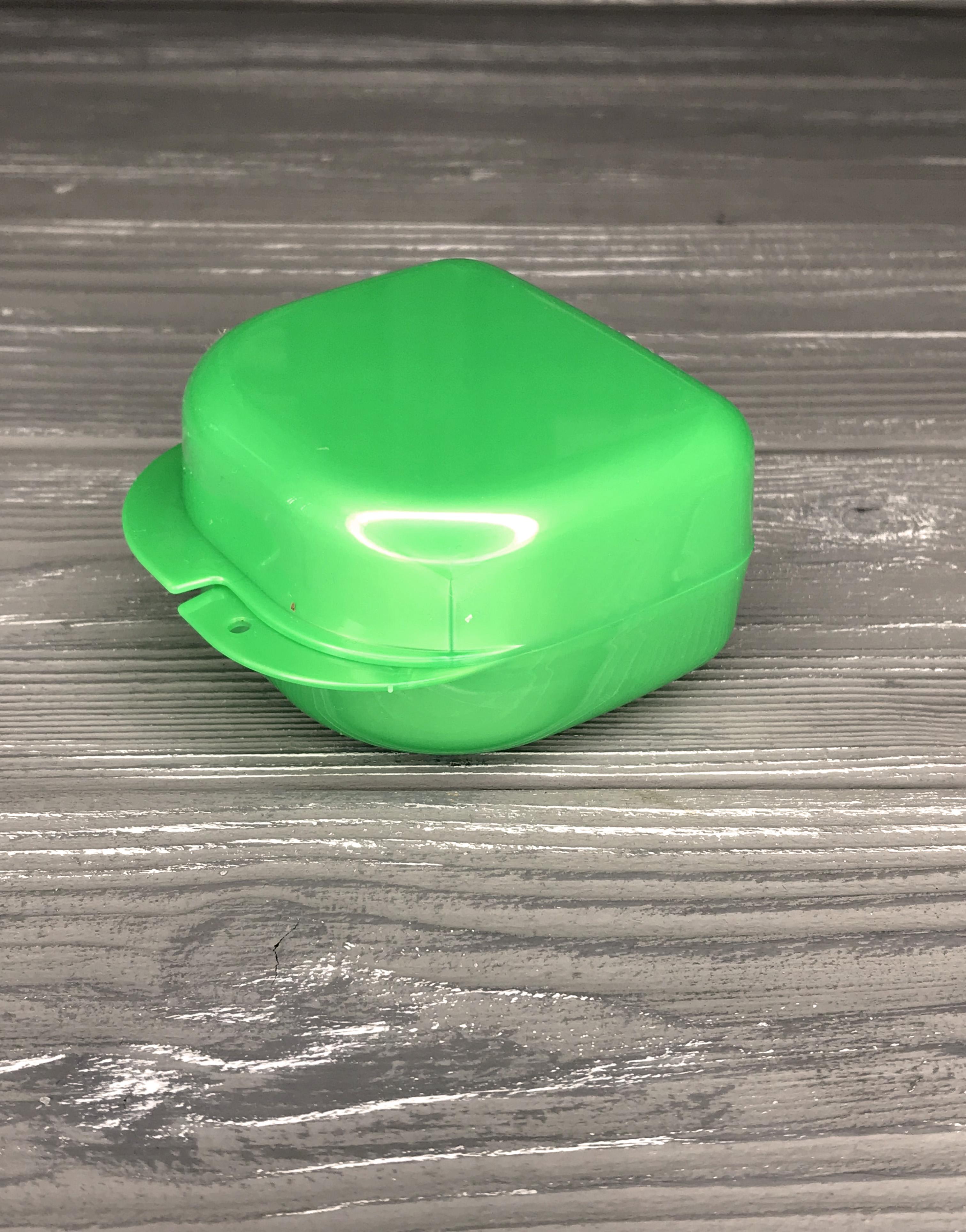 изображение Контейнеры для хранения брекет, пластин и кап размер (S) цвет: Зеленый