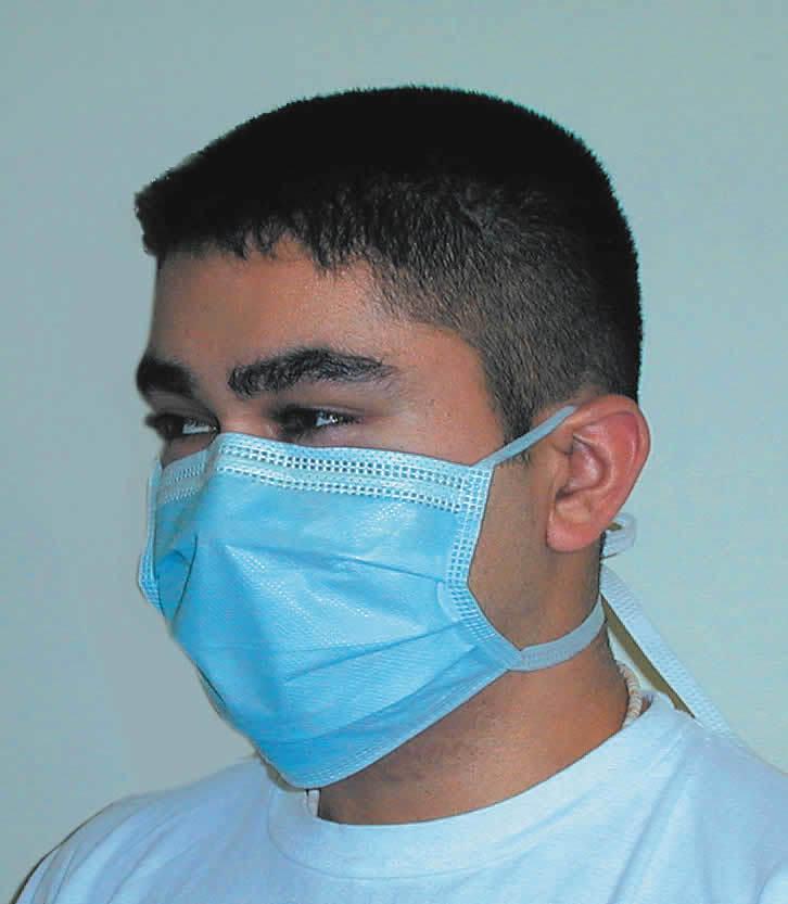 Маски SURGICAL TIE-ON одноразовые хирургические (50 шт.)