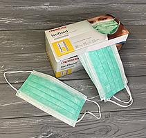 Маски ISOFLUID зеленые одноразовые бумажные (50 шт.)