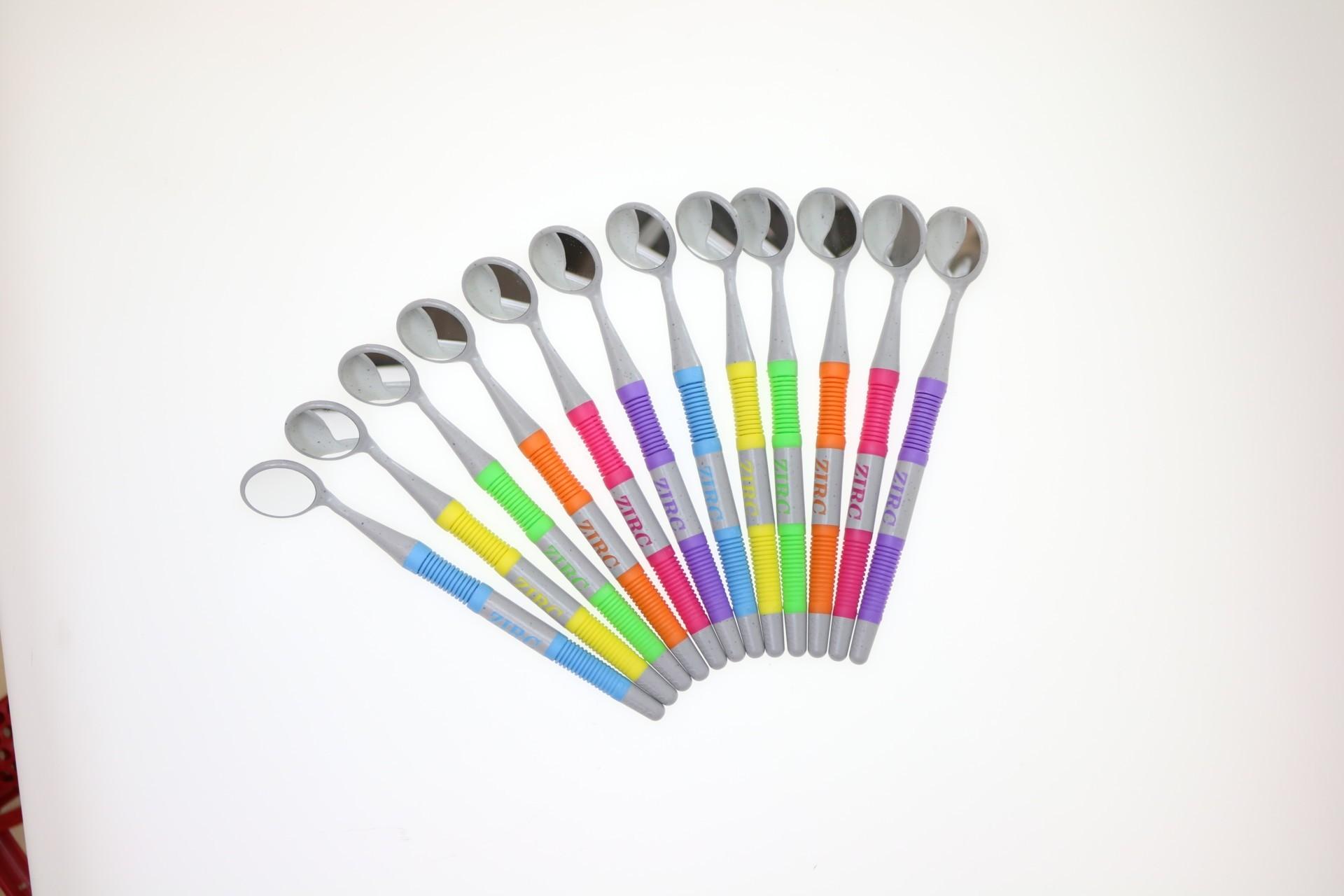 Пластиковые неоновые зеркала набор (12 шт.) ZIRC