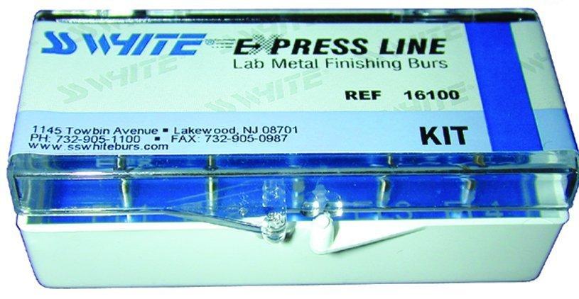 Набор EXPRESS LINE LAB METAL FINISHING BUR KIT