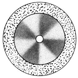 изображение Диски алмазные «SUPER-FLEX» DISC S 913/190 (200) (0,12 mm) низ.край