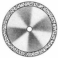 Диски алмазные «FLEX» DISC F 912/190 (200) (0,20 mm) верх.край
