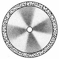 Диски алмазные «FLEX» DISC F 910/190 (200) (0,30 mm) двухст.край