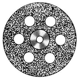 изображение Диски алмазные «Standart» DISC 918/220 (0,40 mm) верх.полный.отверстия