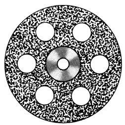 изображение Диски алмазные «Standart» DISC 918/190 (200) (0,40 mm) верх.полный.отверстия