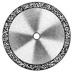 изображение Диски алмазные «Standart» DISC 910/190 (200) (0,55 mm) двухст.край