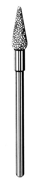 изображение Лабораторные алмазные инструменты SS WHITE серии LAB 79/1045 (79/1050) Группа I. Крупная крошка