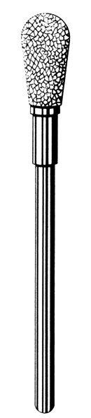 изображение Лабораторные алмазные инструменты SS WHITE серии LAB 77/1065 Группа I. Крупная крошка