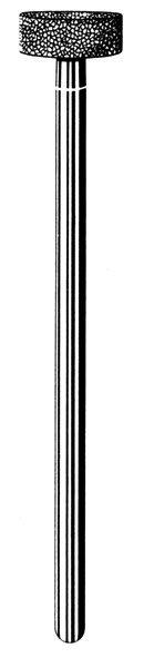 Лабораторные алмазные инструменты SS WHITE серии LAB 231/4080 Группа III. Средняя крошка