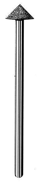 Лабораторные алмазные инструменты SS WHITE серии LAB 80/4080 Группа III. Средняя крошка