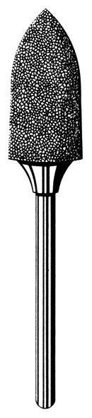 Лабораторные алмазные инструменты SS WHITE серии LAB 78/4090 Группа II. Средняя крошка