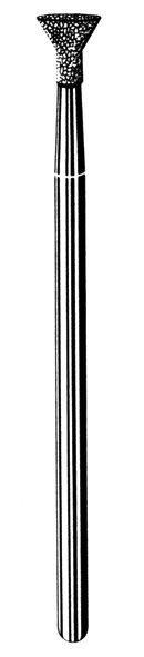 Лабораторные алмазные инструменты SS WHITE серии LAB 44/4050 Группа III. Средняя крошка