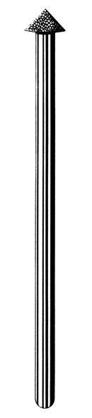Лабораторные алмазные инструменты SS WHITE серии LAB 80/4050 Группа III. Средняя крошка