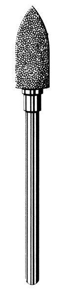 Лабораторные алмазные инструменты SS WHITE серии LAB 78/4060 Группа II. Средняя крошка