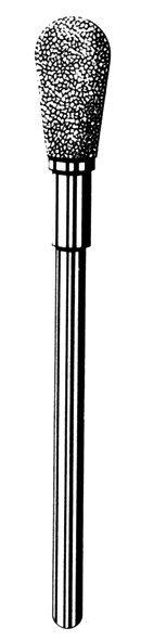 Лабораторные алмазные инструменты SS WHITE серии LAB 77/4060 Группа II. Средняя крошка