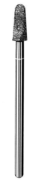 Лабораторные алмазные инструменты SS WHITE серии LAB 213/4040 Группа III. Средняя крошка
