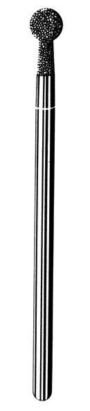 Лабораторные алмазные инструменты SS WHITE серии LAB 72/4040 Группа III. Средняя крошка