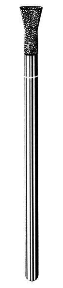 Лабораторные алмазные инструменты SS WHITE серии LAB 43/4040 Группа III. Средняя крошка