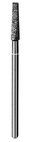 Лабораторные алмазные инструменты SS WHITE серии LAB 212/4030 Группа III. Средняя крошка
