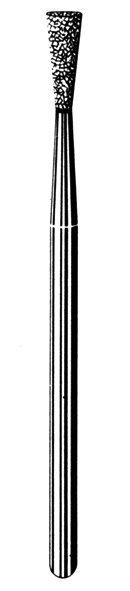 Лабораторные алмазные инструменты SS WHITE серии LAB 25/4030 Группа III. Средняя крошка