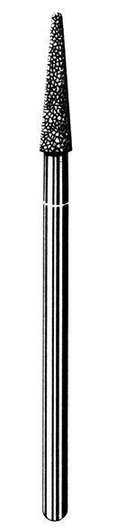 Лабораторные алмазные инструменты SS WHITE серии LAB 23/4030 Группа III. Средняя крошка