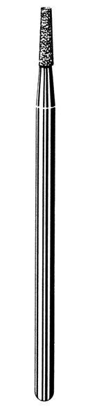 изображение Лабораторные алмазные инструменты SS WHITE серии LAB 212/4020 Группа III. Средняя крошка