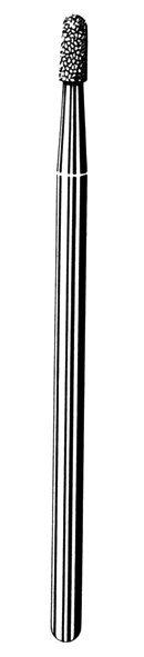 Лабораторные алмазные инструменты SS WHITE серии LAB 211/4020 Группа III. Средняя крошка