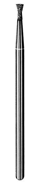 Лабораторные алмазные инструменты SS WHITE серии LAB 43/4020 Группа III. Средняя крошка
