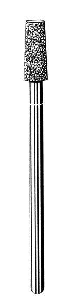 Лабораторные алмазные инструменты SS WHITE серии LAB 550/040 Группа IV. Мелкая крошка