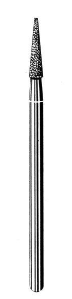Лабораторные алмазные инструменты SS WHITE серии LAB 559/023 Группа IV. Мелкая крошка