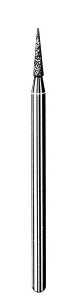 Лабораторные алмазные инструменты SS WHITE серии LAB 558/016 Группа IV. Мелкая крошка