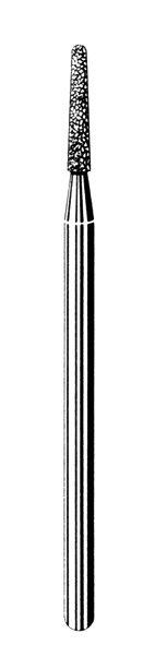 Лабораторные алмазные инструменты SS WHITE серии LAB 554/018 Группа IV. Мелкая крошка