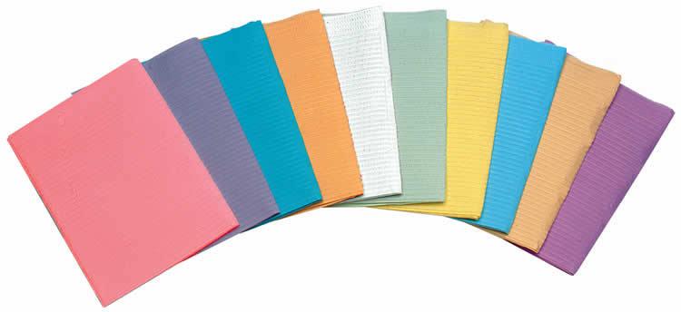 Салфетки желтые для пациентов Econoback 2-слойные (500 шт.)