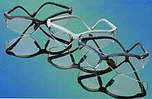 Очки защитные медицинские черные / (18) TEMREX PROVISION EYEWEAR IC