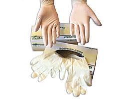 "Перчатки латексные без талька ""New Exam Gloves"" (50 пар) S"