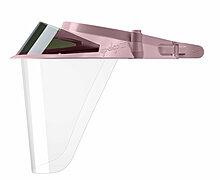 Персиковые экраны защитные с козырьком для лица из пластмассы OP-D-OP FACE SHIELD (II)