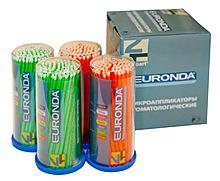 Микроаппликаторы UltraFine уп 100 шт Euronda