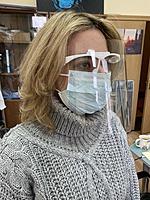 Защитные щитки для лица со сменным экраном Face Shield (Россия)