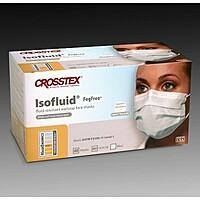 Маски ISOFLUID FOG FREE голубые одноразовые бумажные (40 шт.)