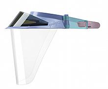 OP-D-OP Мультиколор экраны защитные с козырьком для лица из пластмассы OP-D-OP FACE SHIELD (II)