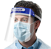 Экран защитный для лица Face Shield Splash Protector Fog-free