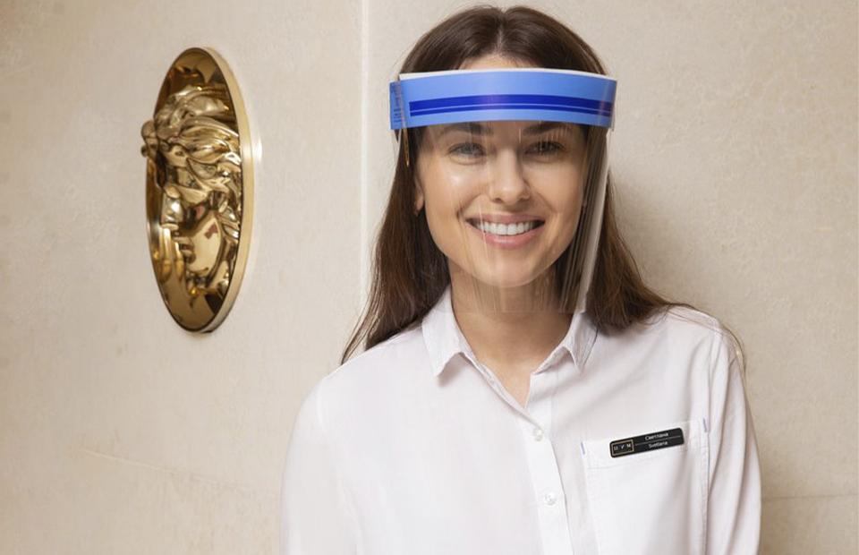 изображение Защитный экран для лица Face Shield ОллДент