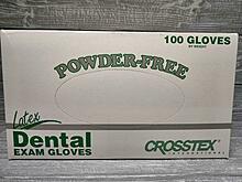 Латексные перчатки 100 шт. Crosstex Green Line (lux качество) размер S (Small)