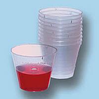 Стаканчики пластиковые одноразовые 30 ml (100 шт.)