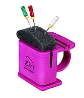 Подставка для эндодонтических инструментов и файлов Endo stand assist розовая